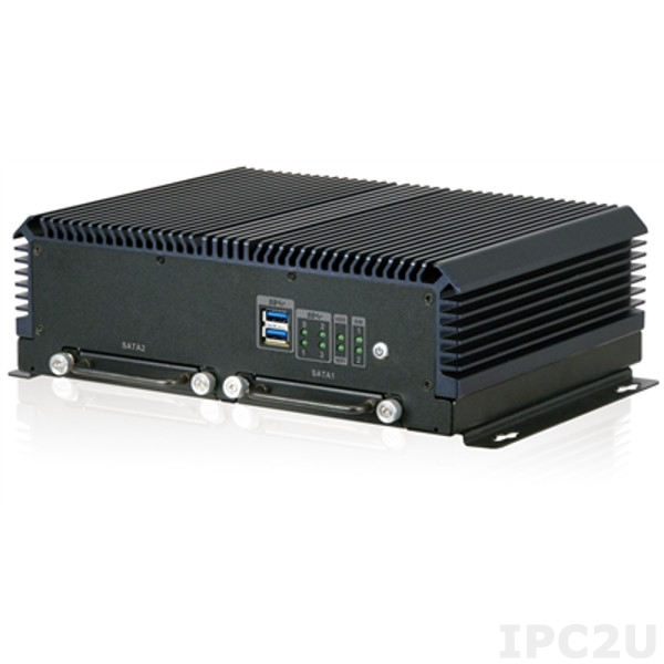 IVS-300-BT-J1/4G-R10 Rugged PoE Vehicle PC mit Skylake Prozessor